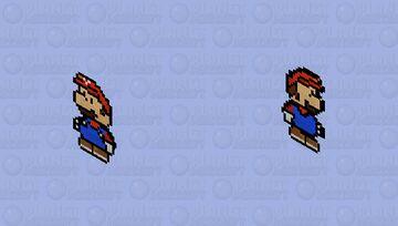 Paper Mario Minecraft Skin