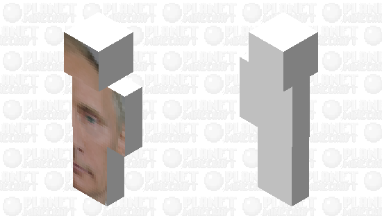 Big Putin Right Minecraft Skin