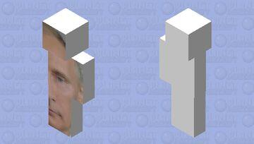 Big Putin Right Minecraft Skin