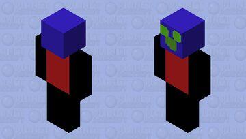 Cute and creeper Minecraft Skin