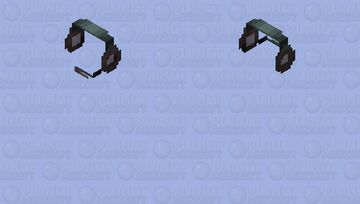 Headphones-HD Minecraft Skin
