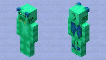 """The mutant terror of the sea..."" Minecraft Skin"