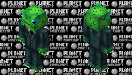 Frog in smoking Minecraft Skin