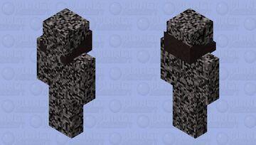 bedrock man Minecraft Skin