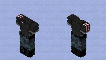 °.✩┈ Mass effect || Casual N7 base ✩.° Minecraft Skin