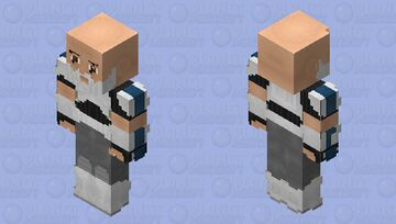 "Rex ""CT-7567"": Star Wars: Rebels Minecraft Skin"
