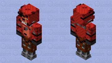 Foxy the pirate fox Minecraft Skin
