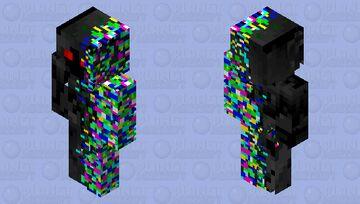 Glitch Minecraft Skin