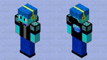 Diamond Destroyer Minecraft Skin