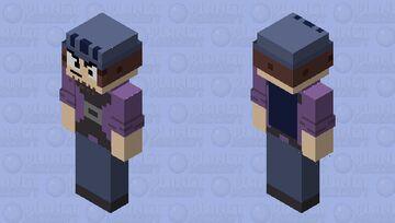 Suction Cup Man Minecraft Skin