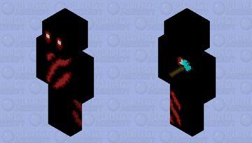 Shadow Demon Minecraft Skin