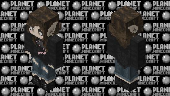 Rat elf Minecraft Skin