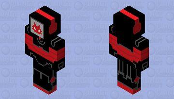 Overlord (zła wersja kota robota z Digifaces HD) Minecraft Skin