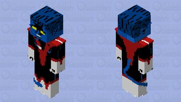 Nightcrawler: X-Men: The Animated Series Minecraft Skin