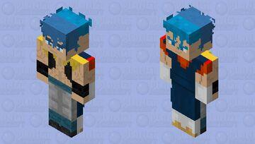 Gogeta or Vegito Minecraft Skin