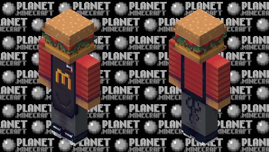 McDonald's Sir. Burger | Request {✪ Popular Reel} Minecraft Skin