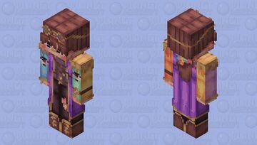 time traveler karl jacobs. but hd. Minecraft Skin