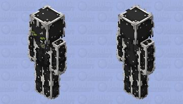 Alien X Minecraft Skin