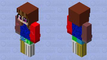 My weird HD skin (entry for fishstacks' second skin contest) Minecraft Skin