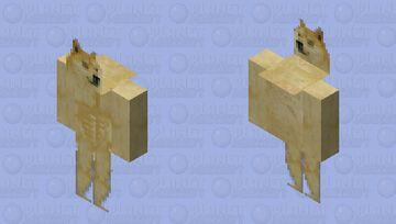 Muscle Doge Minecraft Skin