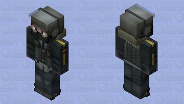Bandit (Default) | R6S Minecraft Skin