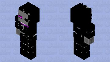 stylized withered enderman Minecraft Skin