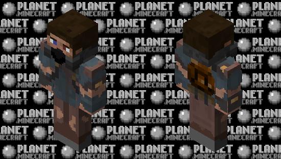 Post-apocalyptic Steve Minecraft Skin