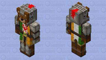 Irish bear knight 2 Minecraft Skin