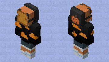 Halloween Toast Minecraft Skin