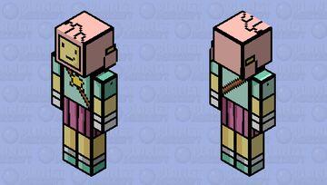 Lily - Scribblenauts Minecraft Skin