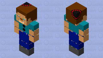 stylized animatronic steve Minecraft Skin