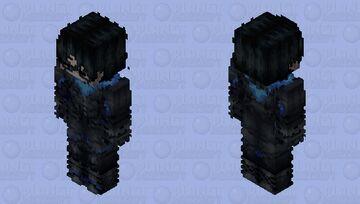 [ɢᴏᴛʜᴀᴍ ᴋɴɪɢʜᴛꜱ] Nightwing Gotham Knights 2022 Minecraft Skin
