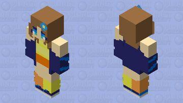 dziewczymka Minecraft Skin
