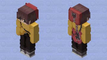 Wilbur soot (repost because my xbox is being mean lol) Minecraft Skin