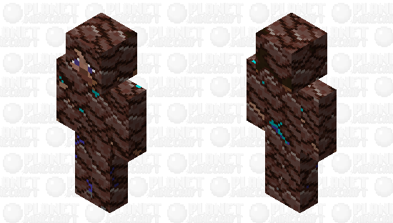 Cover me in debris! Minecraft Skin