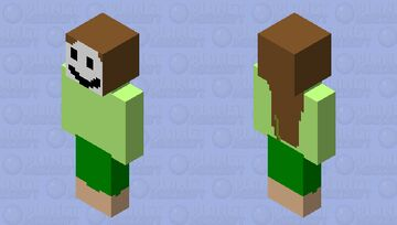 girl dream bad version Minecraft Skin