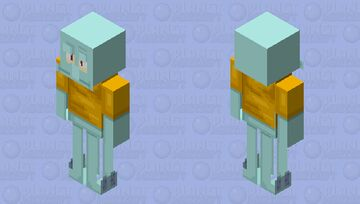 Calamardo 2 Minecraft Skin
