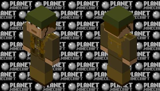 WW1 British Minecraft Skin