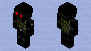 HANK BUT MY OWN HANK Minecraft Skin