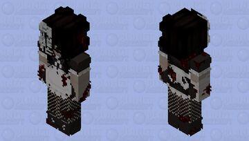 bloody maid Minecraft Skin
