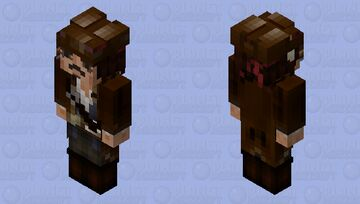 Sea pira...sorry..GREAT CAPTAIN JACK SPARROW legend of the sea (first version) Minecraft Skin