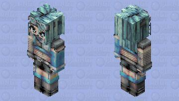 CyberGoth Dancer Minecraft Skin