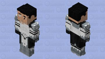 CC-3636 Commander Wolffe (Phase II: No Helmet): Star Wars: The Clone Wars Season 4 Minecraft Skin