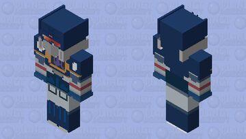 soundwave g1 (idw ver) Minecraft Skin