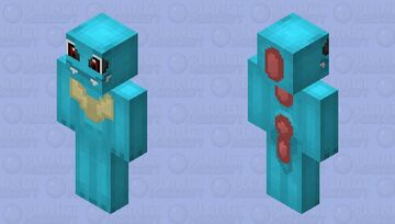 Totodile Minecraft Skin