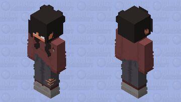 i see RED😏😏 Minecraft Skin