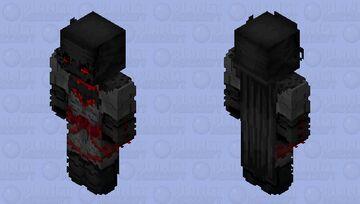 Flashpoint Batman (Mouth Cover) Minecraft Skin