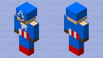Steve rogers (Captain America) Minecraft Skin