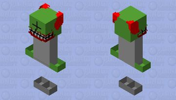 [Madness Combat] Tricky The Clown Minecraft Skin