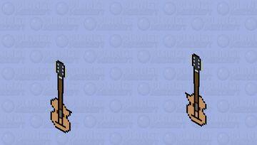Guitar Minecraft Skin